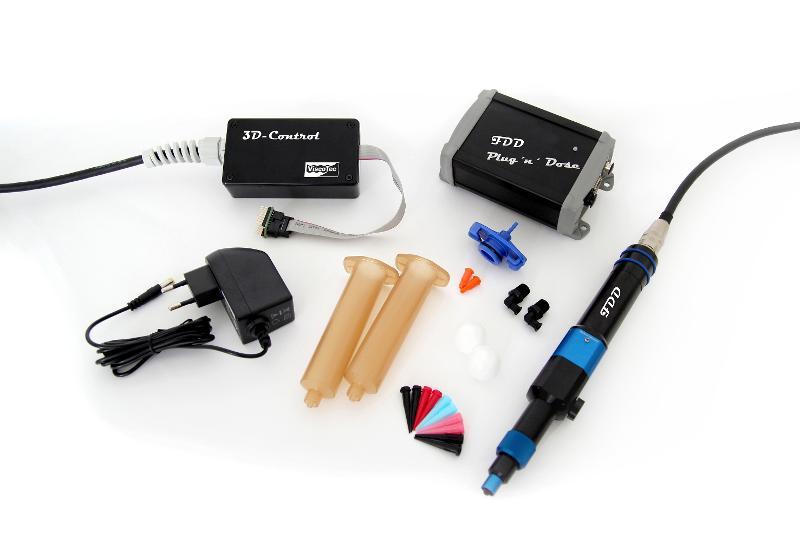 ViscoTec FDD Starter Kit  - 3D Druck von Fluiden und Pasten / 3D Druckkopf