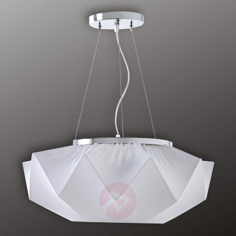 Beautiful textile pendant light Art 60 cm - Pendant Lighting
