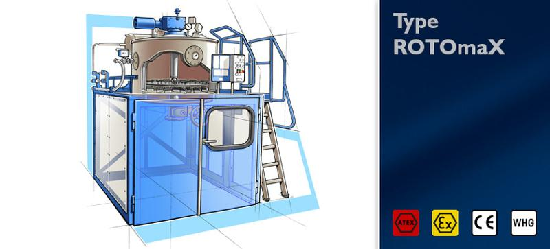Distillation unit type ROTOmaX - null