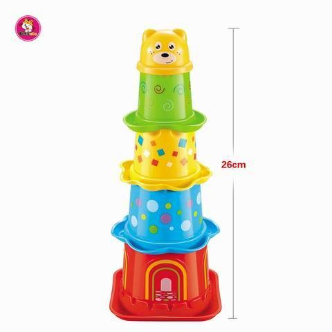 Baby Toddler Stacking Nesting Sorting Cups Blocks Toy Activi - Baby&Todder Educational Toy
