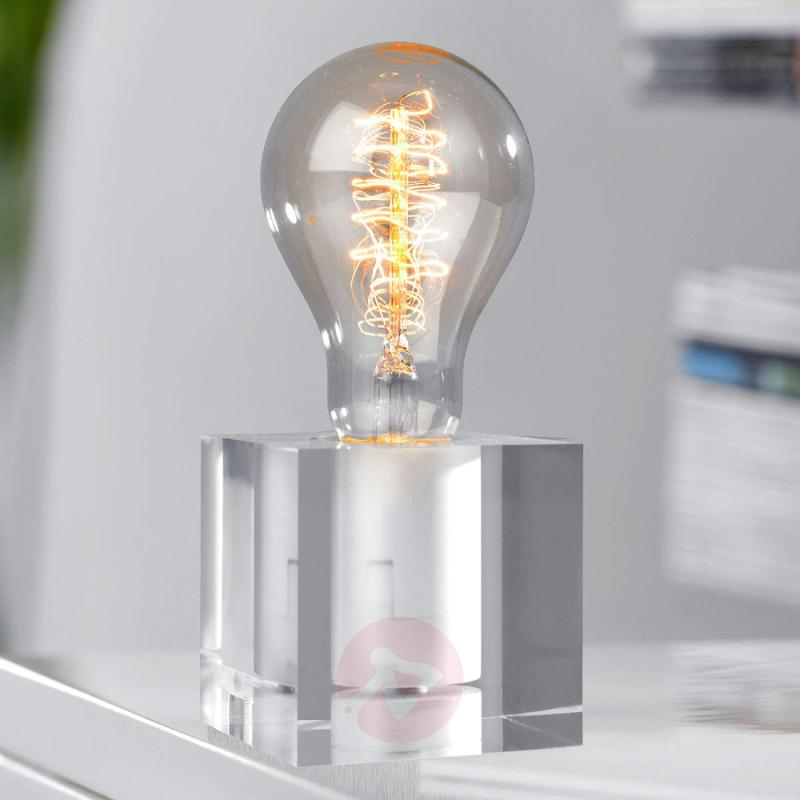 Special acrylic table lamp Cubic - indoor-lighting