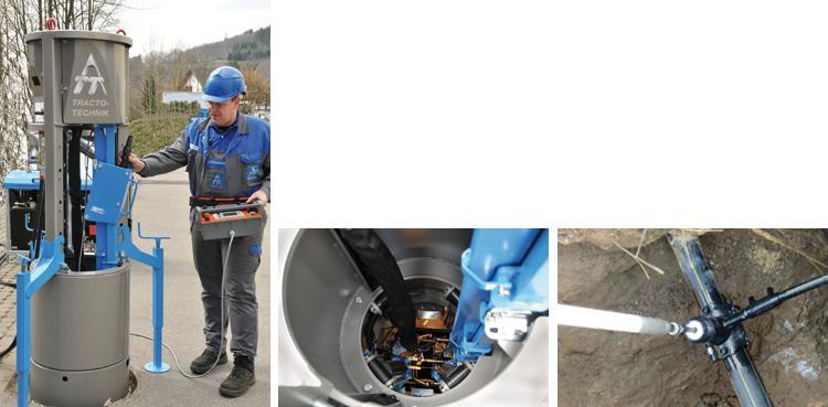 GRUNDOPIT Keyhole - Pipe installation