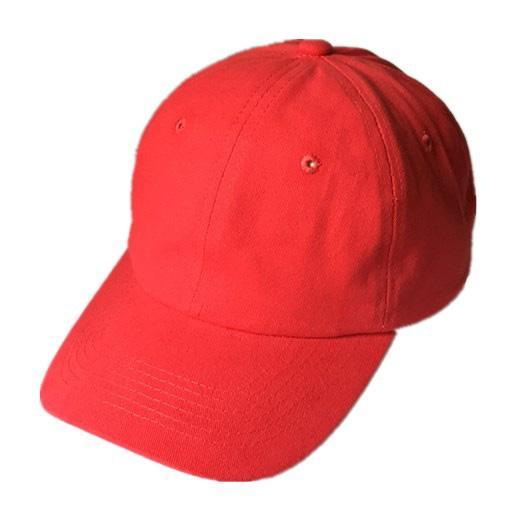 Bonnet de baseball en coton brossé