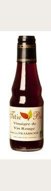 Vinaigre de Vin Rouge Biologique à la Framboise  - 6 % d'acidité Tatie Bio
