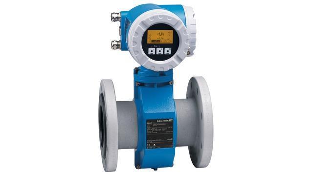 debit mesure produits - debitmetre electromagnetique promag 53W