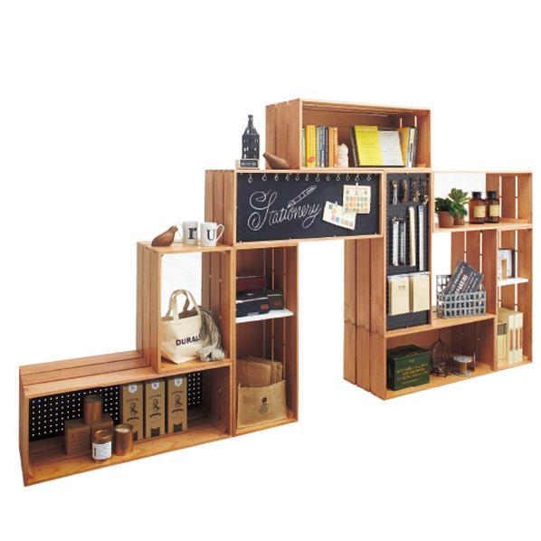 Display Shelving 'Tumiki' - Modular Display Furniture