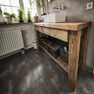 MEUBLE EN BOIS RECYCLÉ - Bois Antique conçoit et réalise des meubles sur-mesure en vieux bois recyclé