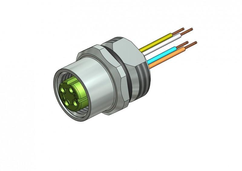 Industrial Ethernet Connectors M12x1 - Industrial Ethernet Connectors M12x1