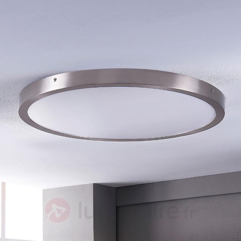 Grand plafonnier LED Milea, rond - Plafonniers LED