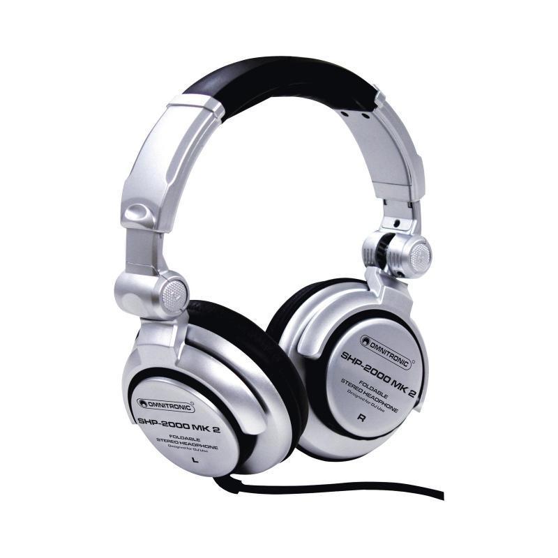DJ-Kopfhörer - Omnitronic SHP-2000 MK2 DJ-Kopfhörer