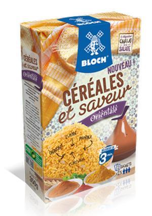 Céréales saveur Orientale Bloch Société Nouvelle