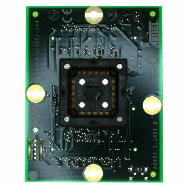 STK600 SOCKET/EXPANSION 144-TQFP - Microchip Technology ATSTK600-UC3A0X-144