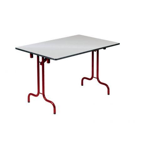 Table Pliante Dumas 120 X 80 Cm - 160 X 80 Cm - Tables De Collectivités