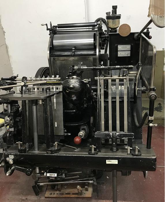 Heidelberg OHT – T - Used Machine