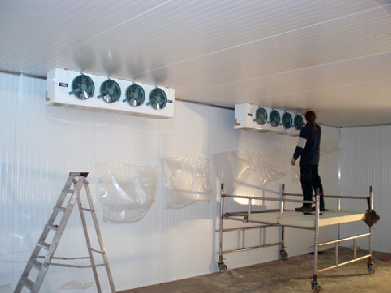 Cooling Equipment Instalation - Instalation services