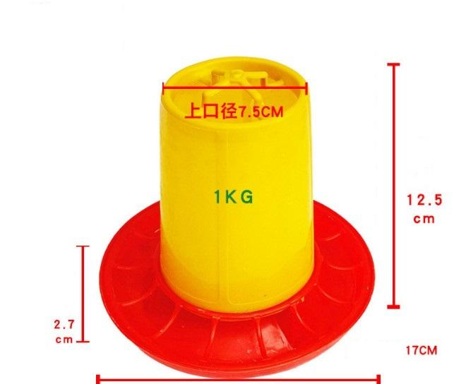 1 kg Chicken,duck,goose,dove,Quail feeding Barrel/trough - chicken feeders;Chicken Feeder Barrel;poultry feeder