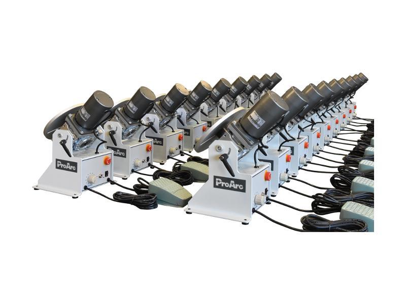 50KG Welding positioner turn table, TIG MIG welding - PT-051 series