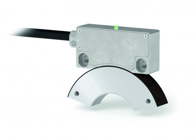 磁性传感器 MSAC506 - 磁性传感器 MSAC506 - 绝对式旋转, 接口 SSI, 分辨率最大 16 Bit