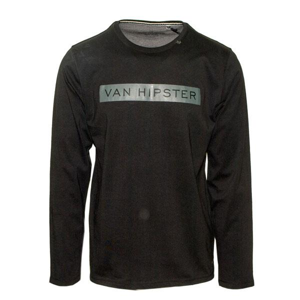 Men's long sleeve shirts VAN HIPSTER - 100% cotton