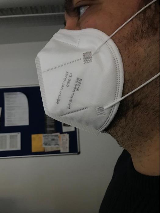 FFP2 Maske, NR (BFE ≥ 95%), ohne Ventil -  hergestellt in Deutschland