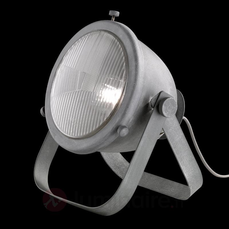 Lampe à poser Kent avec spot couleur béton - Toutes les lampes à poser