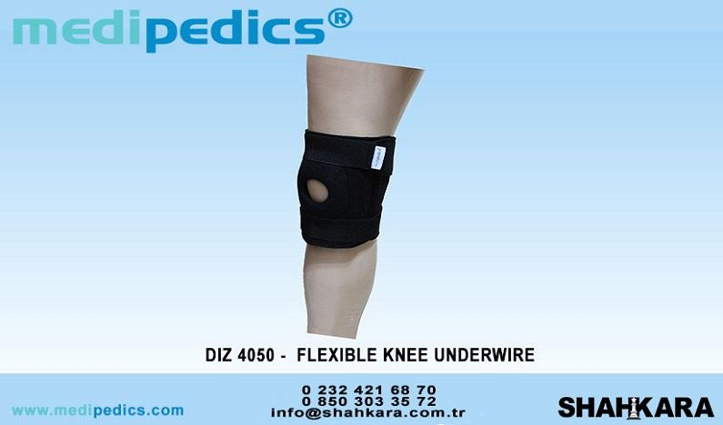 FLEXIBLE KNEE UNDERWIRE
