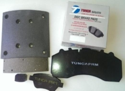 friction material brake pad and brake lining