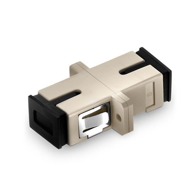 Simplex Om1/om2 Mulit Mode Fiber Optic Adapter With Flange - null