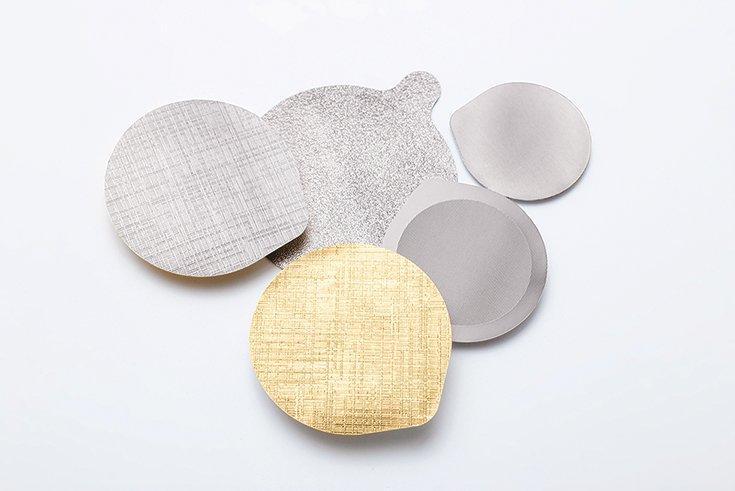 Aluminium-Siegelverschlüsse, flach - Aluminium-Siegelverschlüsse, flach