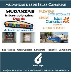 International Movers From Canarias Island - To all the world