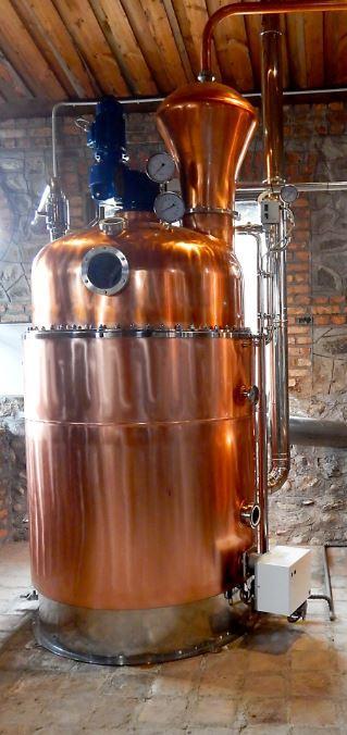 Distillation plant -