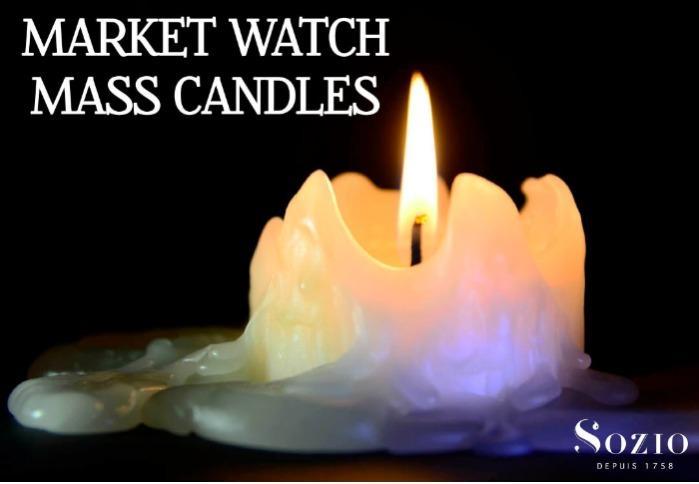 """""""Market watch mass candles"""" -"""