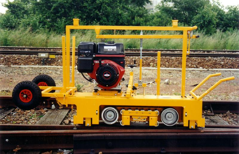 Machines for Track Works - NB-15 Rail Grinding and Scrubber Machine