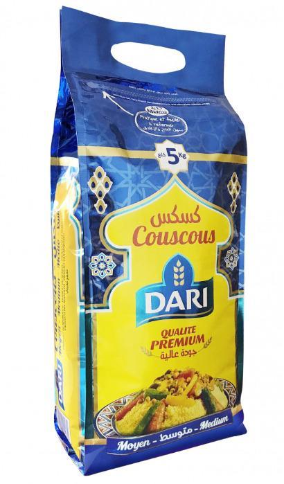 Couscous moyen 5kg - DARI -