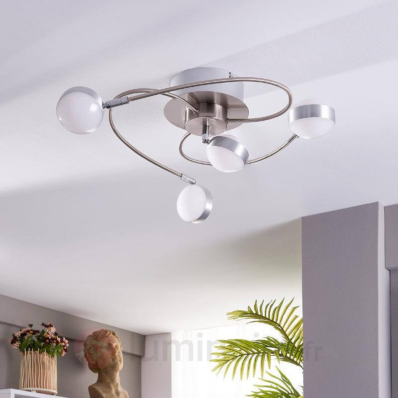 Plafonnier LED à quatre lampes Marlon - Plafonniers LED
