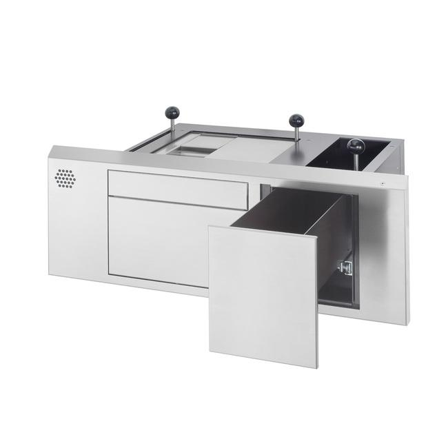 Model 52.01 3S Night-counter with separate pin-pad drawer -