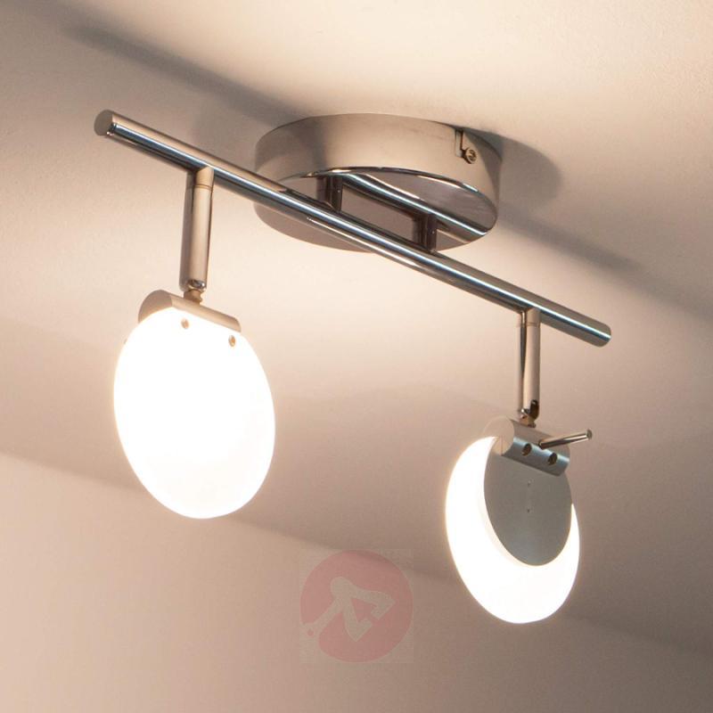 Sena - 2-bulb LED spotlight for wall or ceiling - indoor-lighting
