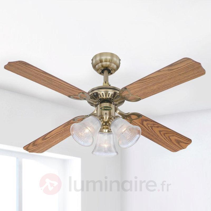 Princess Trio - ventilateur de plafond éclairé - Ventilateurs de plafond lumineux