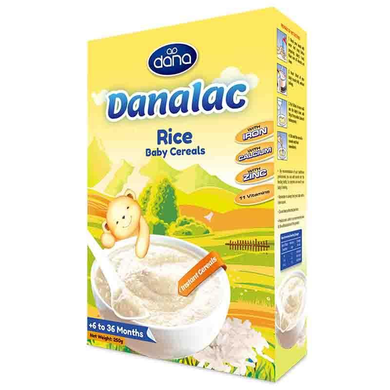 Cereais infantis – DANALAC – alimentos para nutrição infanti - DANALAC traz todos os nutrientes e vitaminas necessários para o crescimento bebe