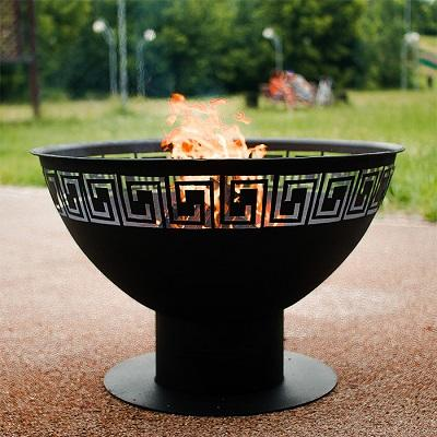 "Open fire pit ""Greek"" -"