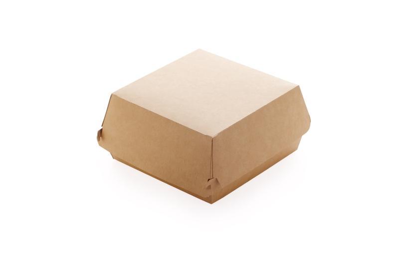 Packaging for burgers - Kraft burger box