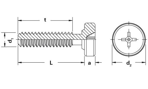 Self-clinching fasteners - PEM® - Undetachable clinch screws for sheet metal