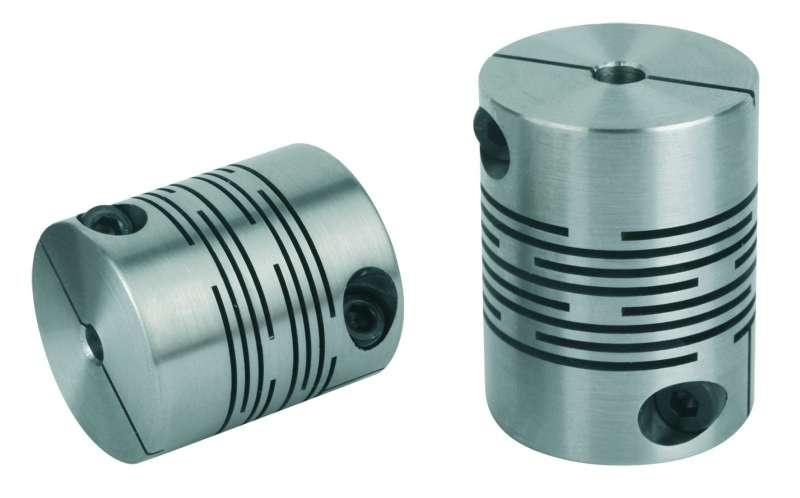 Beam couplings with radial clamping hub - Beam couplings with radial clamping hub, aluminium or stainless steel