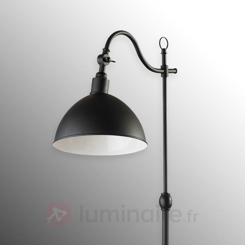 Lampadaire noir Ekelund - Tous les lampadaires
