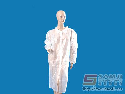 Lab coat-PP/PE coated - AL-0041
