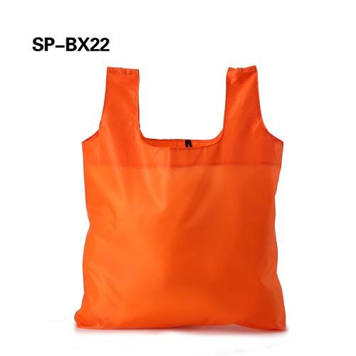 T-Shirt shopping bag with small pouch