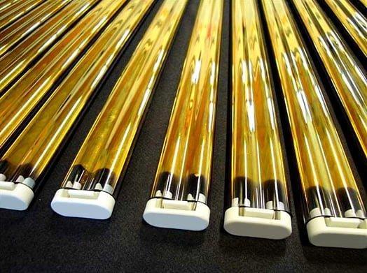 Lampade ad infrarossi gemellari - radiatori a raggi infrarossi