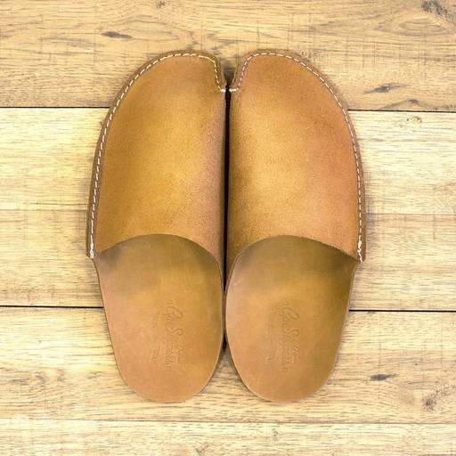 Tan CP Slippers