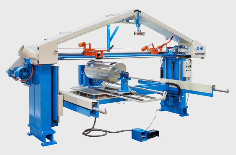 Surface grinding - Twin-Belt Grinding Machine Type ZBS