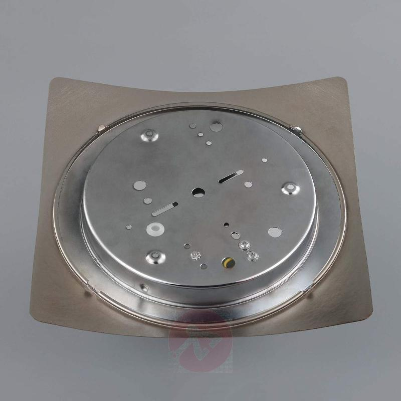 Fabiane ceiling light, glass and metal - Ceiling Lights